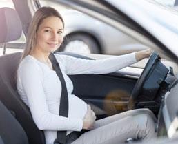 Putovanje u trudnoći s automobilom