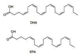 EPA i DHA Omega-3 masne kiseline