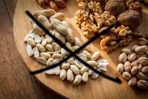 Izbjegavanje kikirikija i orašastih plodova