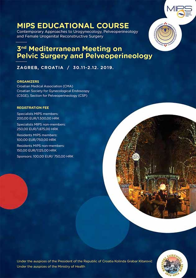 3rd Mediterranean Meeting on Pelvic Surgery and Pelveoperineology