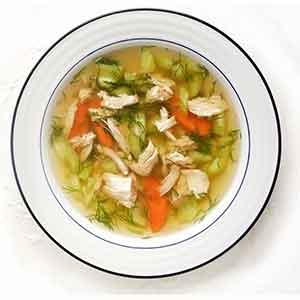 Hrana za podizanje imuniteta: pileća juha