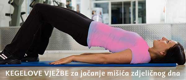 Kegelove vježbe za jačanje mišića zdjeličnog dna
